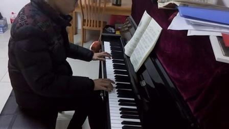 寂寞的街道(立式钢琴)