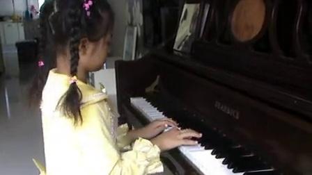 钢琴大赛一等奖演奏 北风吹 标清视频 -6岁女孩香港国际钢琴大赛一