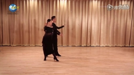 2016 CBDF拉丁舞恰恰銅牌套路