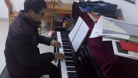 爱如烟花一瞬间(立式钢琴)