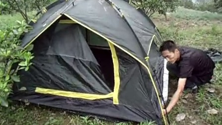 自动帐篷速开帐篷打开折叠方式