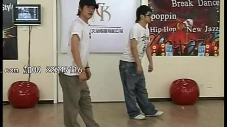 街舞教学 机械舞牛人 机械舞poppin 超牛机械舞popping教学