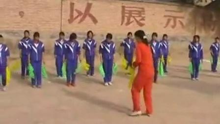 高中体育《健美操》甘肃省,2014学年度部级优课评选入围优质课教学视频
