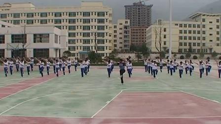 高中体育《武术——五步拳》甘肃省,2014学年度部级优课评选入围优质课教学视频