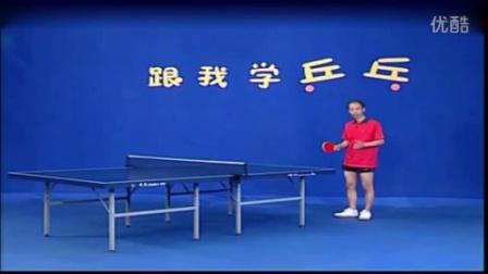乒乓球技术图解身体姿势和站位-超清