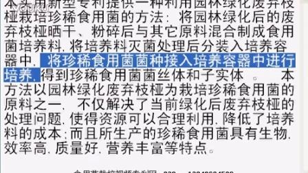 园林绿化废弃枝桠栽培珍稀食用�K效率�质量�i营养丰富等特��,食用菌shiyongjun