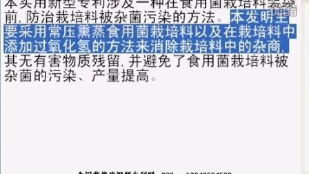 一种食用菌防治杂菌'污染的方��使食用菌生长速度加快-专利技�c,食用菌shiyongjun