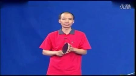 乒乓球接发球技术身体和站位视频