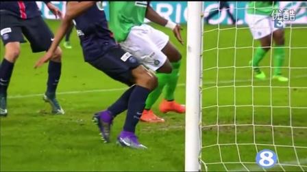 法国杯-伊布助攻卡瓦尼破门 巴黎3-1晋级