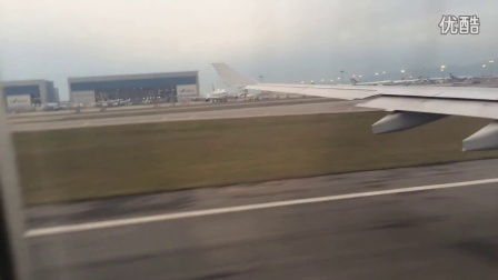 国泰CX400 HKG-TPE A333 Take off 国泰航空 香港至台北 起飞 Cathay Pacific Airways