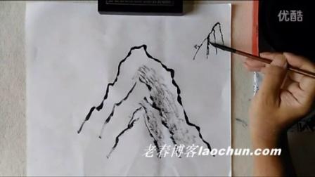 山水画技法视频15