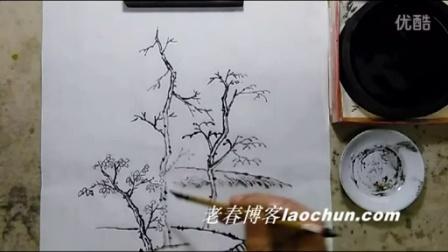 山水画技法视频10