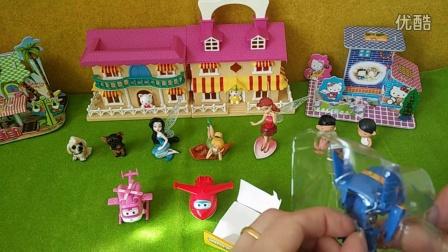 日本食玩超级飞侠乐迪玩具总动员过家家
