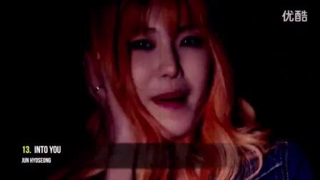 22首韩国美女性感音乐MV
