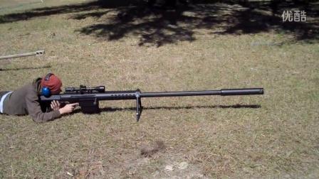 【枪械世界】-美国AnzioMag-Fed20MM大口径狙击枪试射