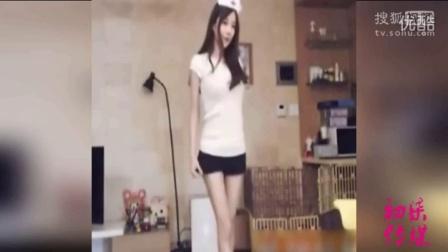 韩女主播短裤热舞 秒杀一众网红