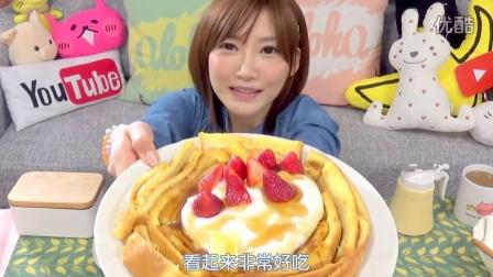【木下大胃王】吐司边做成的法国土司超级好吃的 也很简单喔!!2708kcal