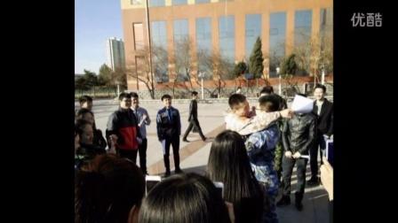 黑龍江科技大學13級大學生儀仗隊最后一天早訓(東區的開始,東區的結束)