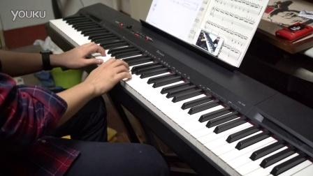 钢琴谱 扎红头绳 考级