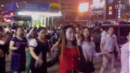 舞动天和20160409天和广场舞小苹果动感街舞