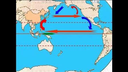 人教版地理必修一微课视频《大规模的海水运动》
