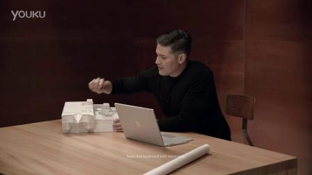 微软 Surface Book 广告中的Rhino