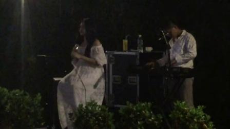 菲律宾歌手在银泰酒店!