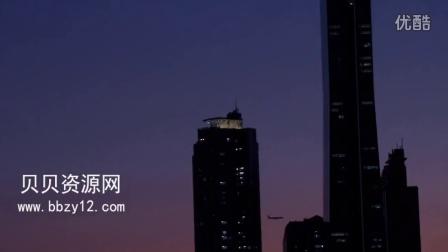 149.高清实拍韩国首尔素材烟花城市宣传片夜景视