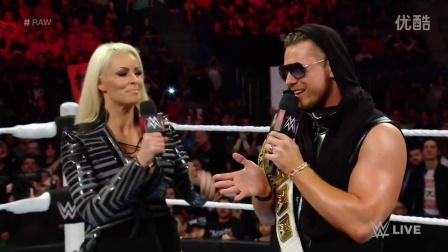 【Raw 4/25】米兹疯狂炫耀 挑衅瑞士超人凯萨罗