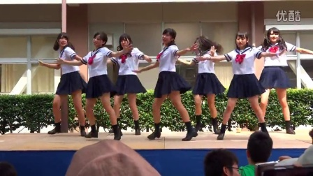 日本高中舞蹈祭上女高中生的音乐v高中-文化高中部邦德图片