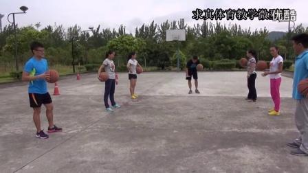 体育微课视频《篮球球性练习》
