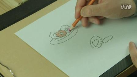 饼干 幼儿园 幼儿绘画 儿童美术 色彩培养 智力开发火影忍者 小猪佩奇