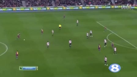 2015-16赛季 梅西 穿越式直塞传球 集锦 - 体育