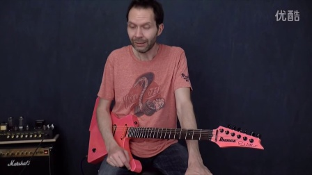Paul Gilbert演示Sub 'N' Up八度单块效果器