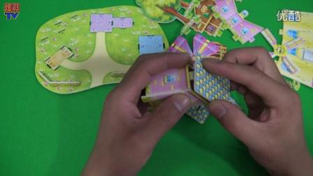 【儿童3d立体手工制作】我们的幼儿园,小马宝莉米奇植物大战僵尸狗狗