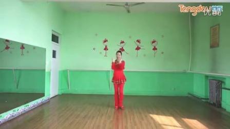 广场舞 歌曲 中国梦 演唱陈思思 编舞肖肖 正背面动作演示 附口令分解图片