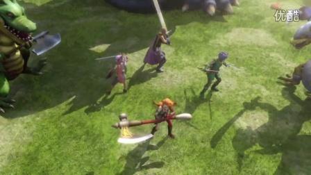 【游民星空】《勇者斗恶龙:英雄2》开场动画