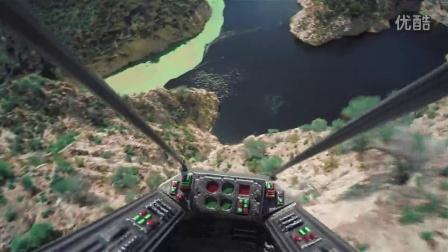 用无人机拍摄的《星球大战》