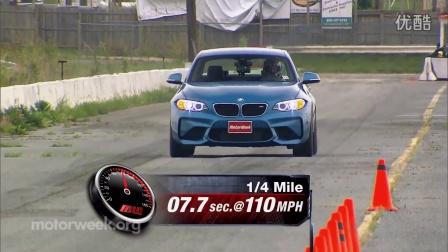 MotorWeek试驾2016 BMW M2