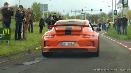 超跑聚会- 991 GT3 RS, 16M Spider, RS6 C7!