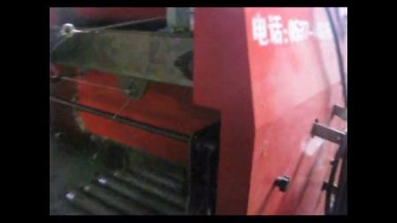 伊春利用玉米秸秆养羊养牛技术青贮饲料包装机视频