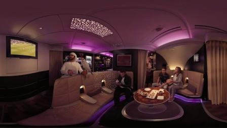 想像 阿提哈德航空A380VR虚拟现实体验为特色的妮可基德曼  360视频