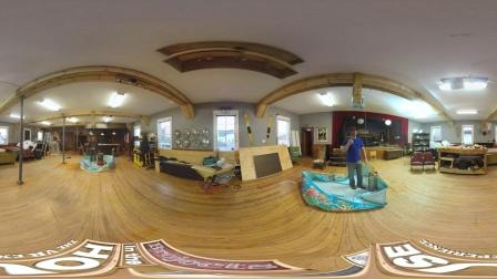 360视频/ VR虚拟现实:斗\ 'dunk坦克的决斗