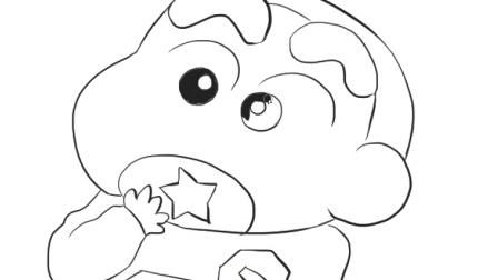 动画片小猪皮杰简笔画图片