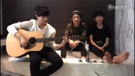 TFBOYS吉他少年王俊凯唱《好想你》