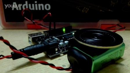 arduino蜂鸣器(小喇叭)实验_1 - 《蜗牛与黄鹂鸟》