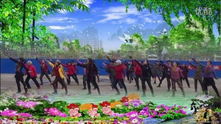 金南漳梅影广场舞妈妈的歌谣 编舞:纯艺舞吧