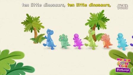 Ten Little Dinosaurs   Mother Goose Club Playhouse Kids Song