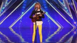 【摩卡音乐视频分享】美国达人秀Grace VanderWaal- 12-Year-Old Ukulele Player