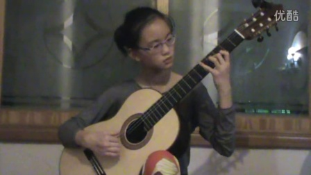 雷吉那尼随想曲4号  欧阳霖11岁